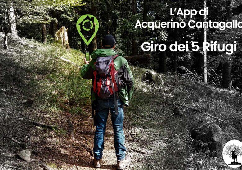 App Acquerino Cantagallo Giro dei 5 Rifugi