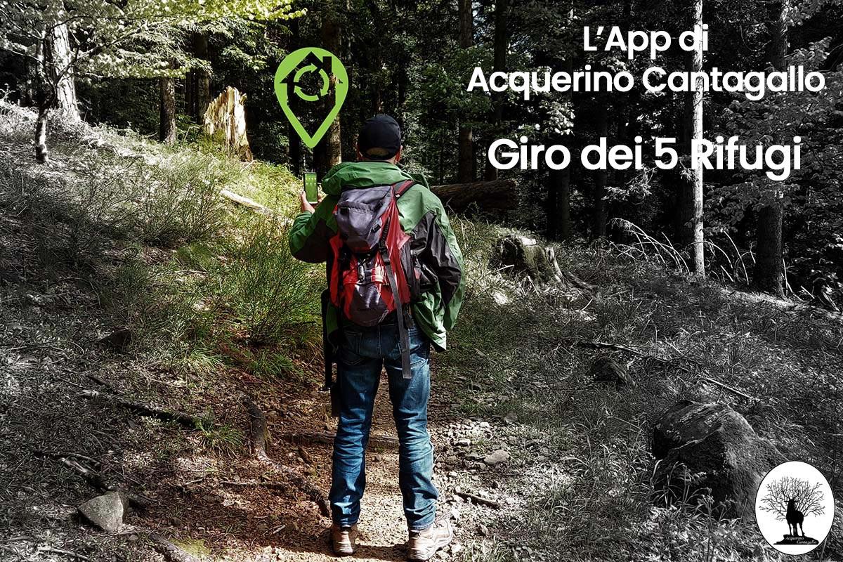 L'App di Acquerino Cantagallo – Il Giro dei 5 Rifugi
