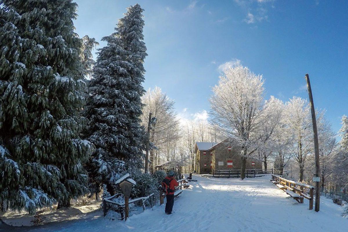Rifugio Pacini neve inverno